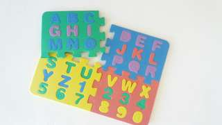 Number mini Puzzle mat for kids