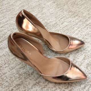 Zalora D'orsay Glam Heels (Price Reduced)