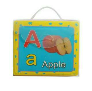 Jumbo Alphabet and Numbers Flash cards