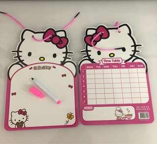 Hello kitty whiteboard set - party goodies bag, goody bag gift