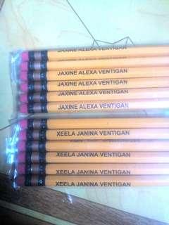 Personalized Mongol No. 2 Pencils
