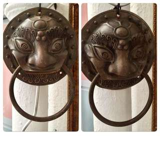 Large Antique Door Knockers - Only $188!