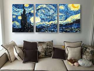 Paint by Numbers (Starry Night)