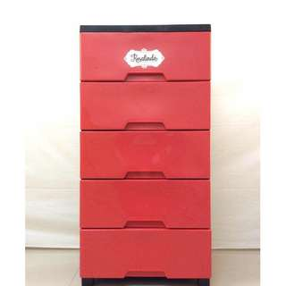ROSALINDA DRAWER 5 LAYER / DURABOX 5L JCE