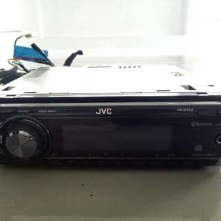 JVC Car Sterio/Cd/Mp3 Player( Montero Stock Audio System)