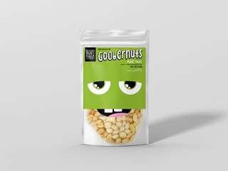 Salted peanut rainy day snack!