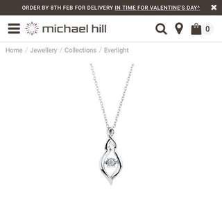 Michael hill diamond necklace