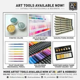 [INFO] Art Tools @ 25c Art & Hobbies