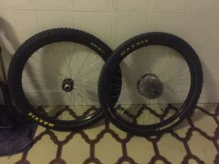 "for sale: Wheelset 26"" with mavic rims"