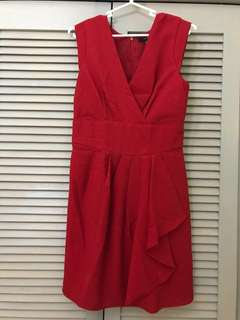 Forever 21 red dress