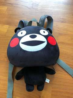 Kumamon back bag/ backpack