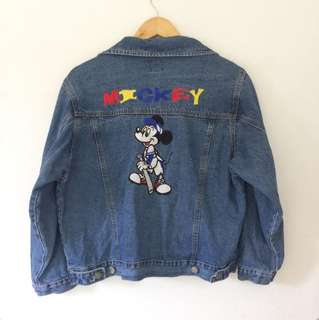 Authentic Mickey Mouse Denim