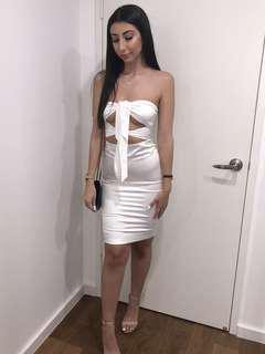 Meshki Marissa Tie-Knot Dress