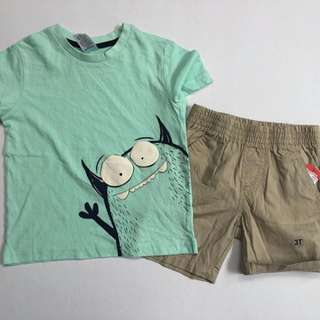 Shirt + short set