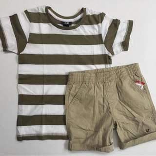 Shirts + shorts set