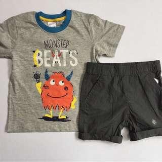 Shirt + shorts set