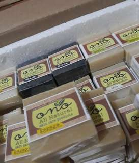 All natural ingredient soap