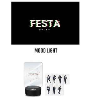 BTS FESTA 2018 OFFICIAL MOOD LIGHT