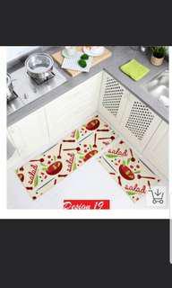 Anti slip kitchen mat