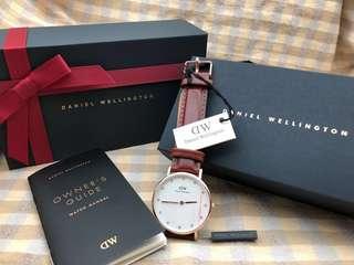 🈹〽️預訂DW Daniel Wellington x swarovski手錶