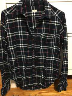 Plaid Long Sleeve (Hollister - small)