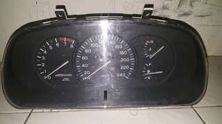 Meter Wira Manual facelift Hitam
