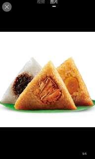 人手製 咸肉粽 裹蒸糉 豆沙 粽子 👍