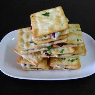 🚚 (2包)手作~蔓越莓牛軋餅