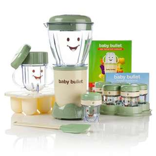 Baby Bullet Food Processor Blender Mixer