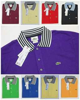 LACOSTE KNITED POLO SHIRT