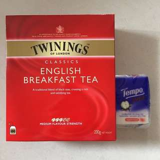 川寧英式早餐茶 Twinings English Breakfast Tea 100s