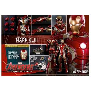 Hot Toys Avengers Iron Man Mark 43 Special Edition