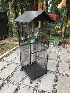 1.5m tall cage