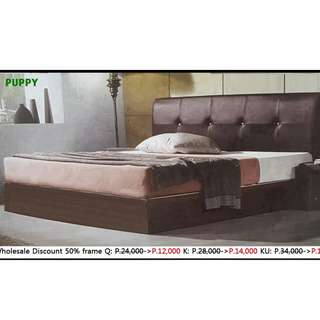 puppy bed  frame