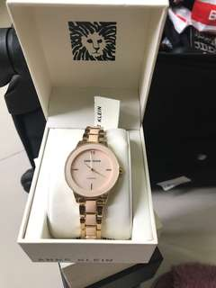 Anne Klein Pink Gold Watch