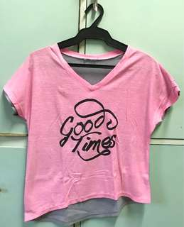 Good Times Pink Tee