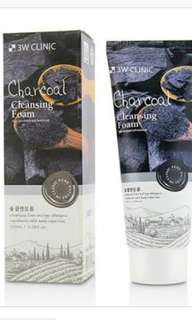 3w Clinic cleansing foam Charcoal