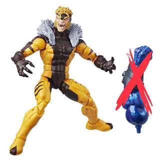 """預訂 八月到貨 劍齒虎 Sabretooth 無 BAF X-Men Marvel Legends 6"""" Action Figure"""