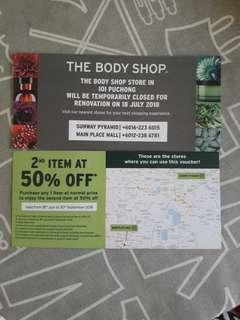 The Body Shop Voucher