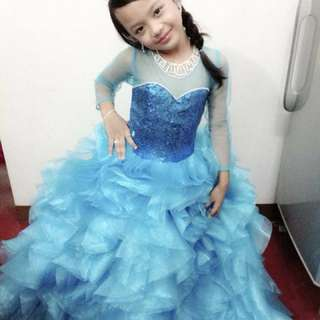 Repriced‼️Kid's Gown (Frozen Inspired)