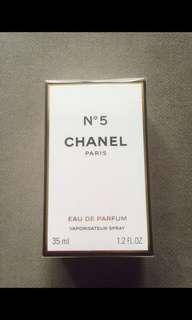 全新Chanel No.5 perfume 香水