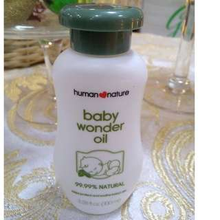 Human Nature Baby Wonder Oil