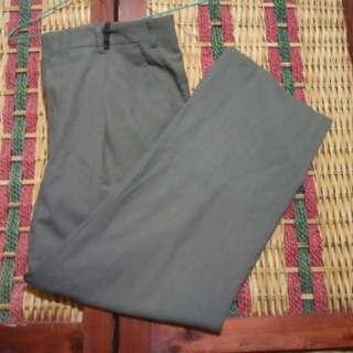 R2 Celana Panjang Formal Kerja Pria Size 33 Gray not Jeans