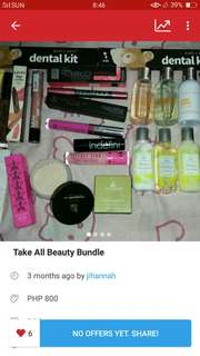 Free sf.Take all beauty bundle