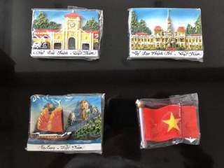 TAKEALL - Souvenir Edisi Vietnam: magnet kulkas