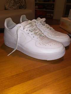 Nike Air Force 1 - worn once