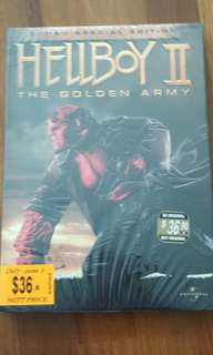 Hellboy 2 : The Golden Army DVD