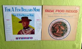 FOR A FEW DOLLARS MORE (Rare)● MUSIC FROM MEXICO . orquesta sinfonica nacional de mexico / Kenneth Klein conducts. ( buy 1 get 1 free )  vinyl record