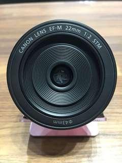 🚚 曙光數位 Canon EF-M  22mm F2.0 STM
