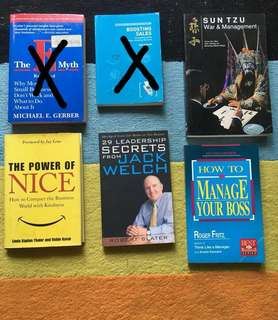 Business, management , sales books